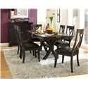 AAmerica Midtown 5Pc Table and Chair Set - Item Number: MID-WG-5PC