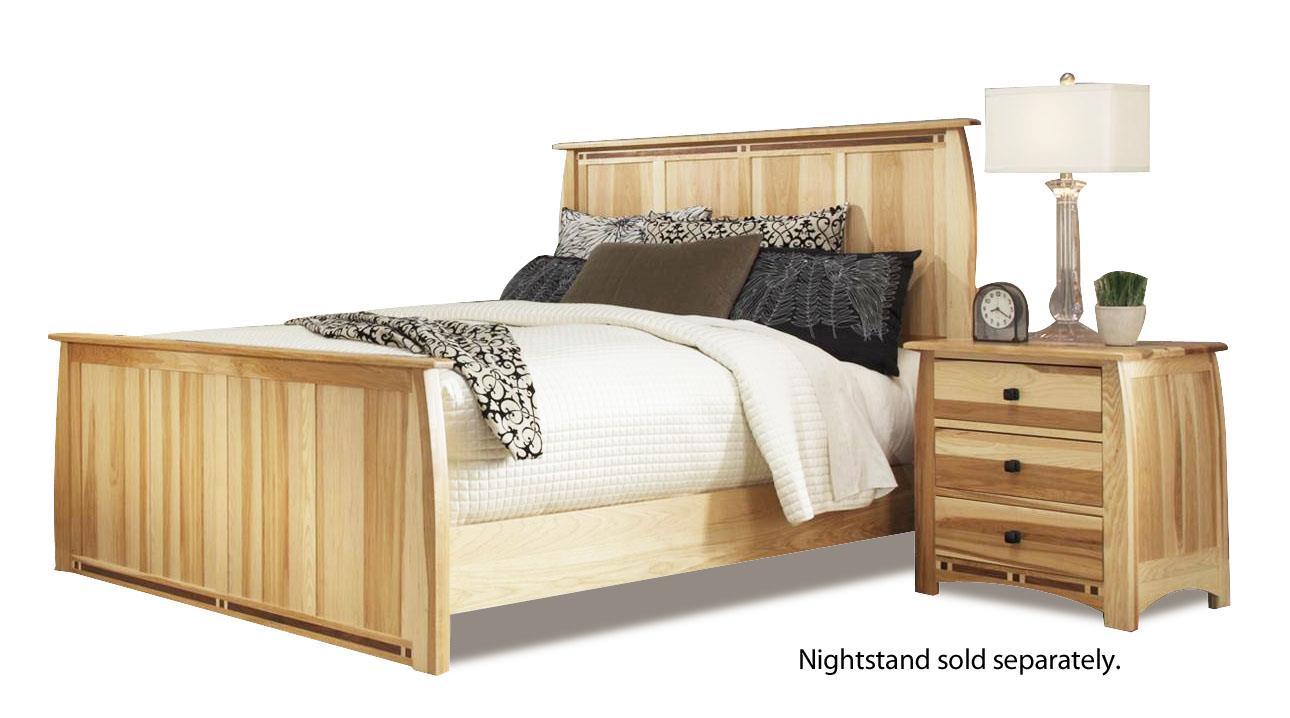 AAmerica Allentown King Panel Bed  - Item Number: ADA-NT-5-17-0