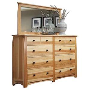 AAmerica Allentown Dresser and Mirror