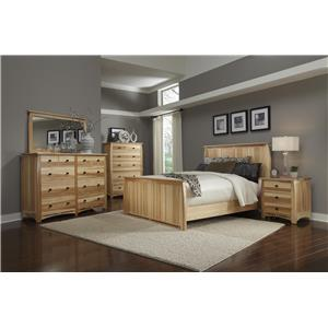AAmerica Allentown 4-Piece King Bedroom Group