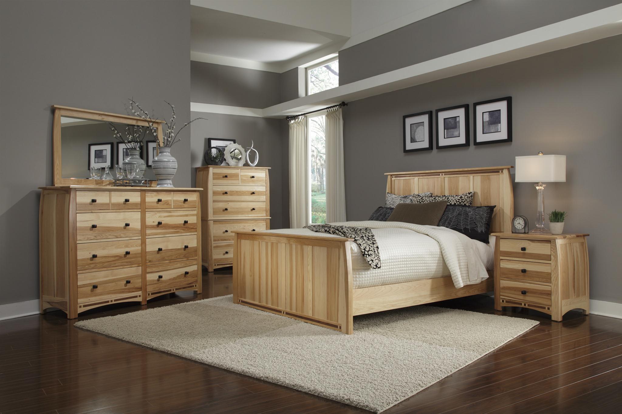 AAmerica Allentown 4-Piece Queen Bedroom Group - Item Number: ADA-NT-50-55-75-Q07