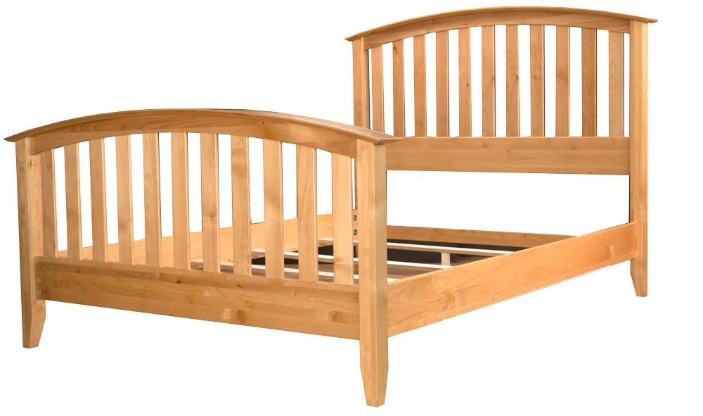 AAmerica Alderbrook Queen Slat Bed - Item Number: ADK-NT-5-04-0