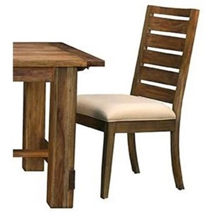 AAmerica Anacortes Dining Side Chair Upholstered Seat