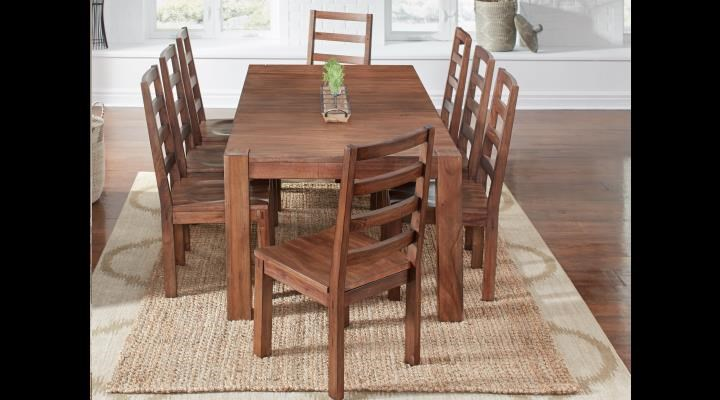 Anacortes 5 PC Dining Set by AAmerica at Rife's Home Furniture
