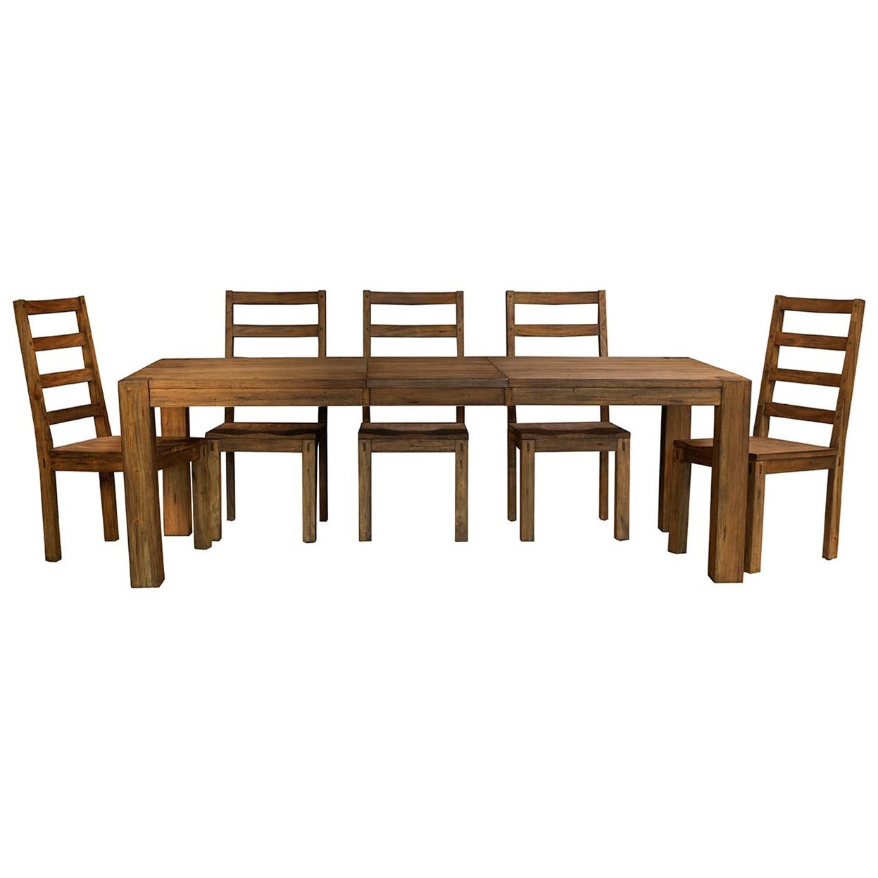 AAmerica Anacortes 6 Piece Dining Set - Item Number: ANA-SM-6-34-0+5xANA-SM-2-55-K