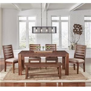 AAmerica Anacortes 7 Piece Dining Set