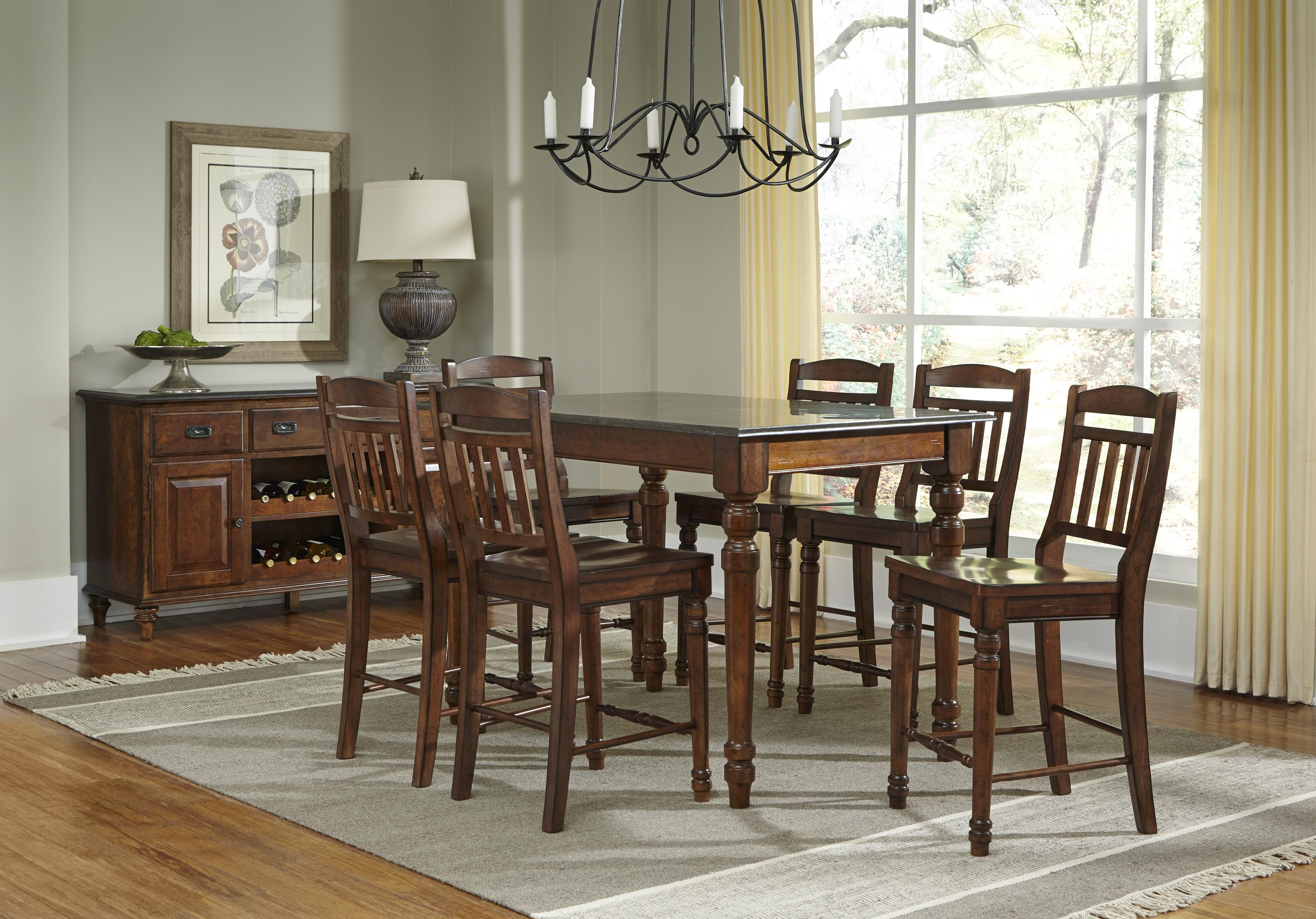 AAmerica Andover Park Dining Room Group - Item Number: ADV Dining Rroom Group 10