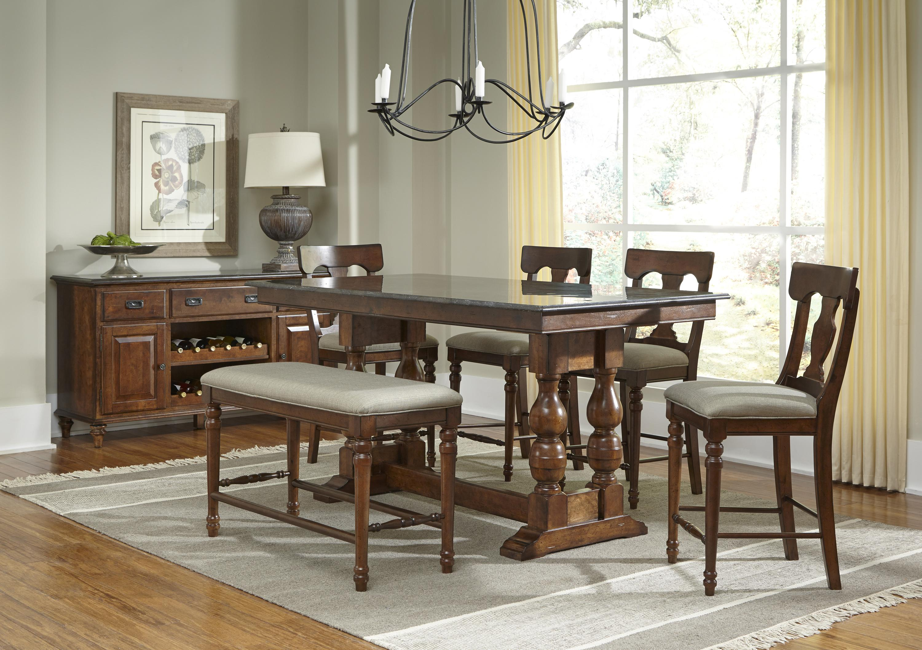 AAmerica Andover Park Dining Room Group - Item Number: ADV Dining Rroom Group 4