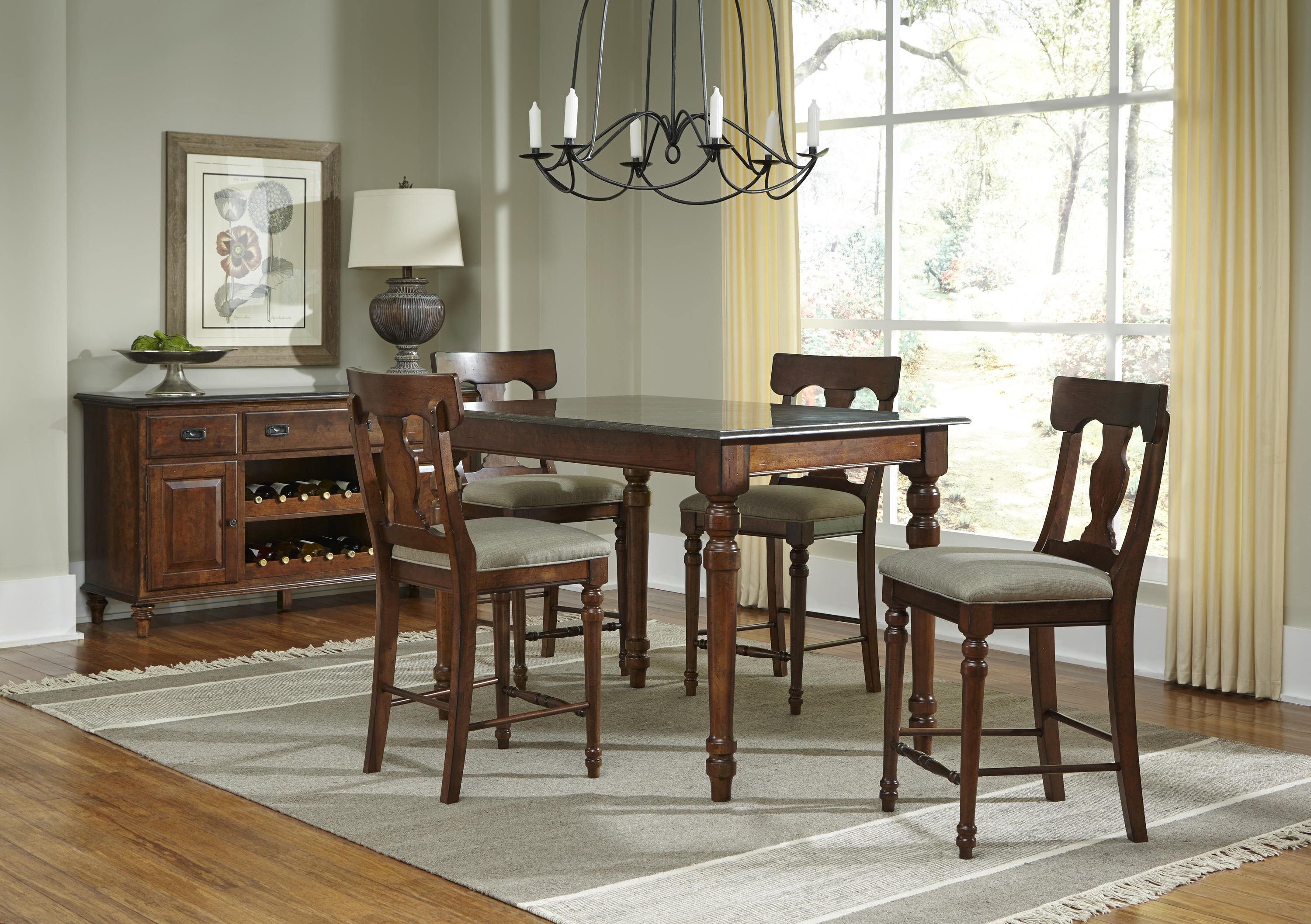 AAmerica Andover Park Dining Room Group - Item Number: ADV Dining Rroom Group 5