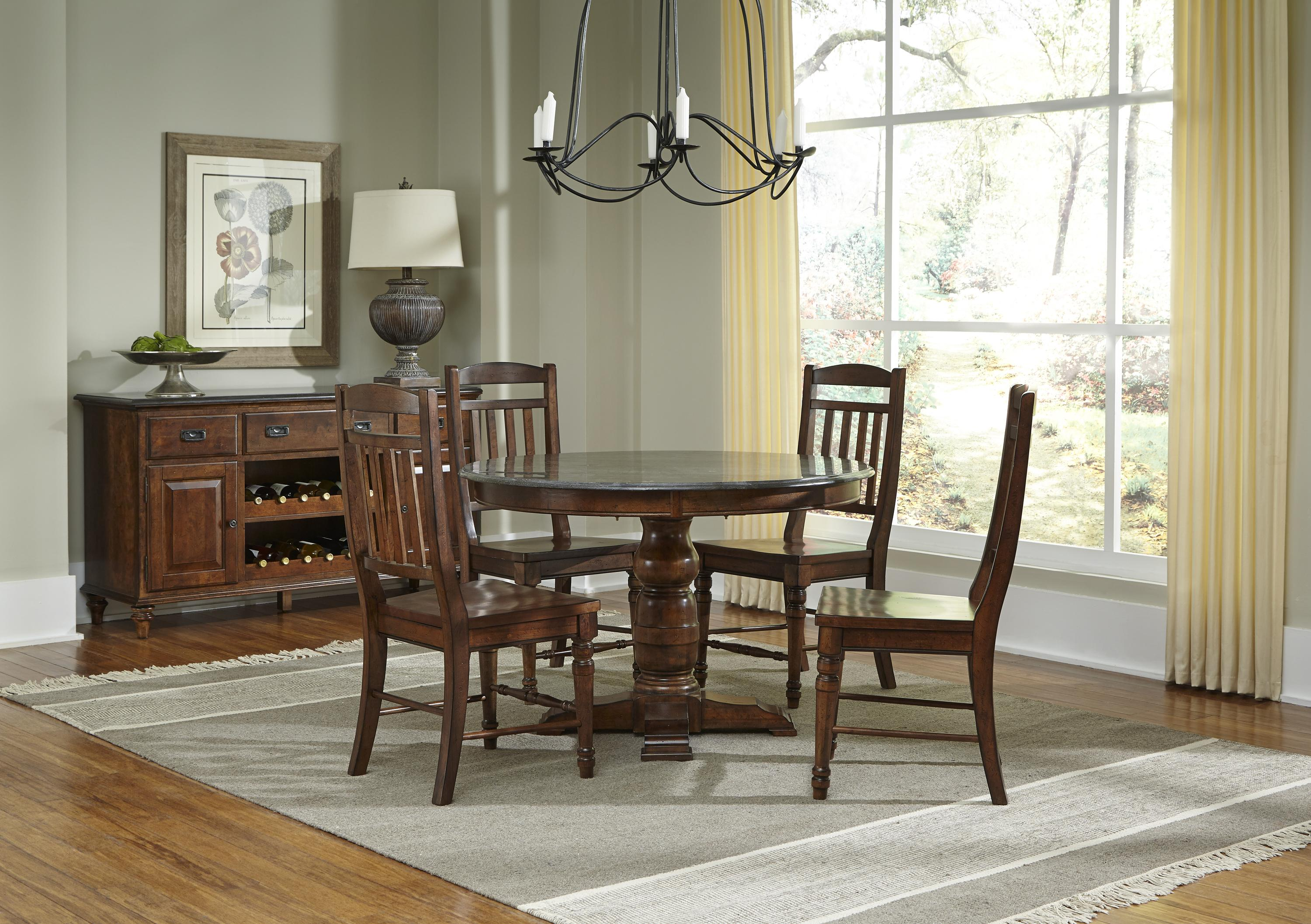 AAmerica Andover Park Dining Room Group - Item Number: ADV Dining Rroom Group 6
