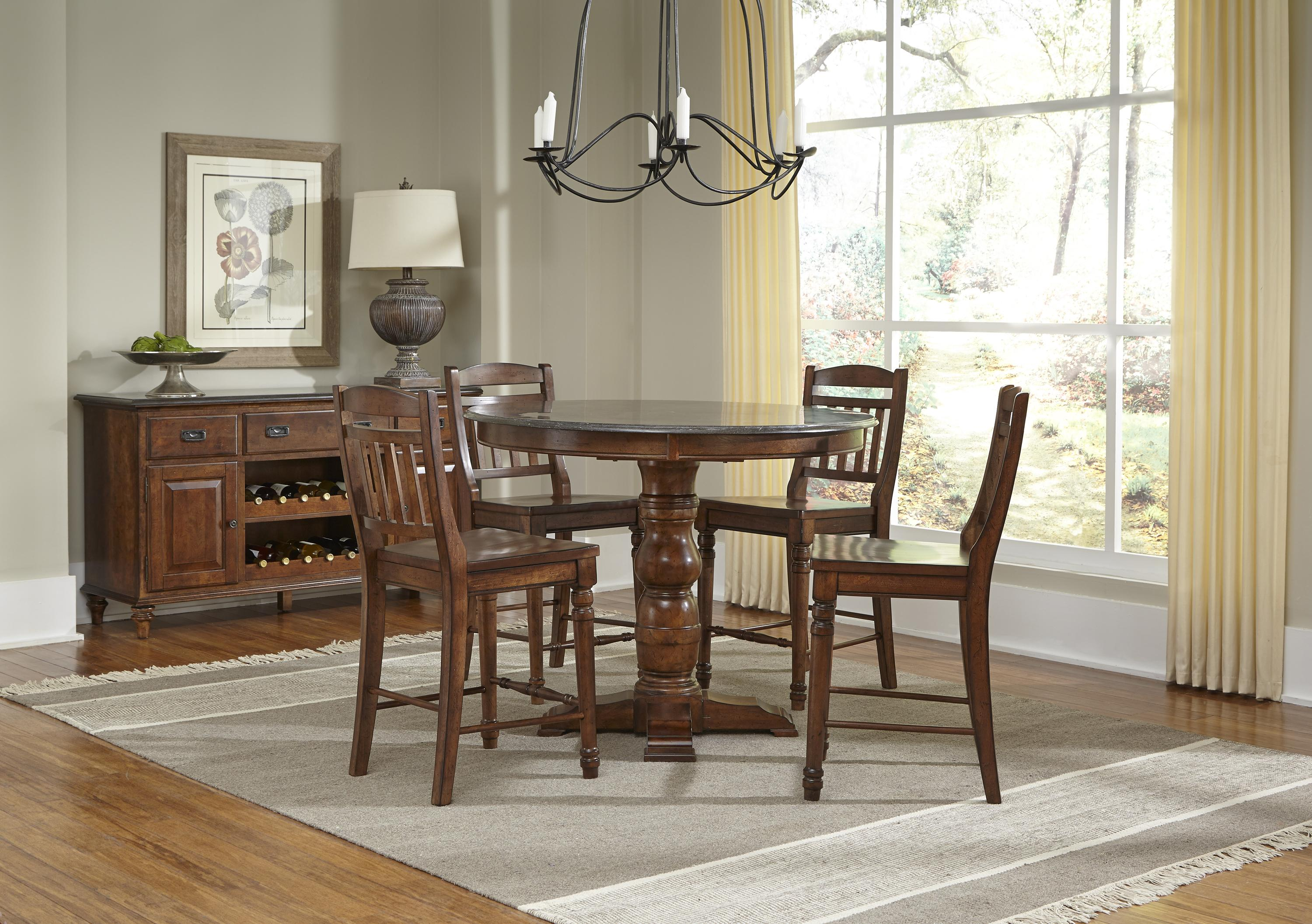 AAmerica Andover Park Dining Room Group - Item Number: ADV Dining Rroom Group 7