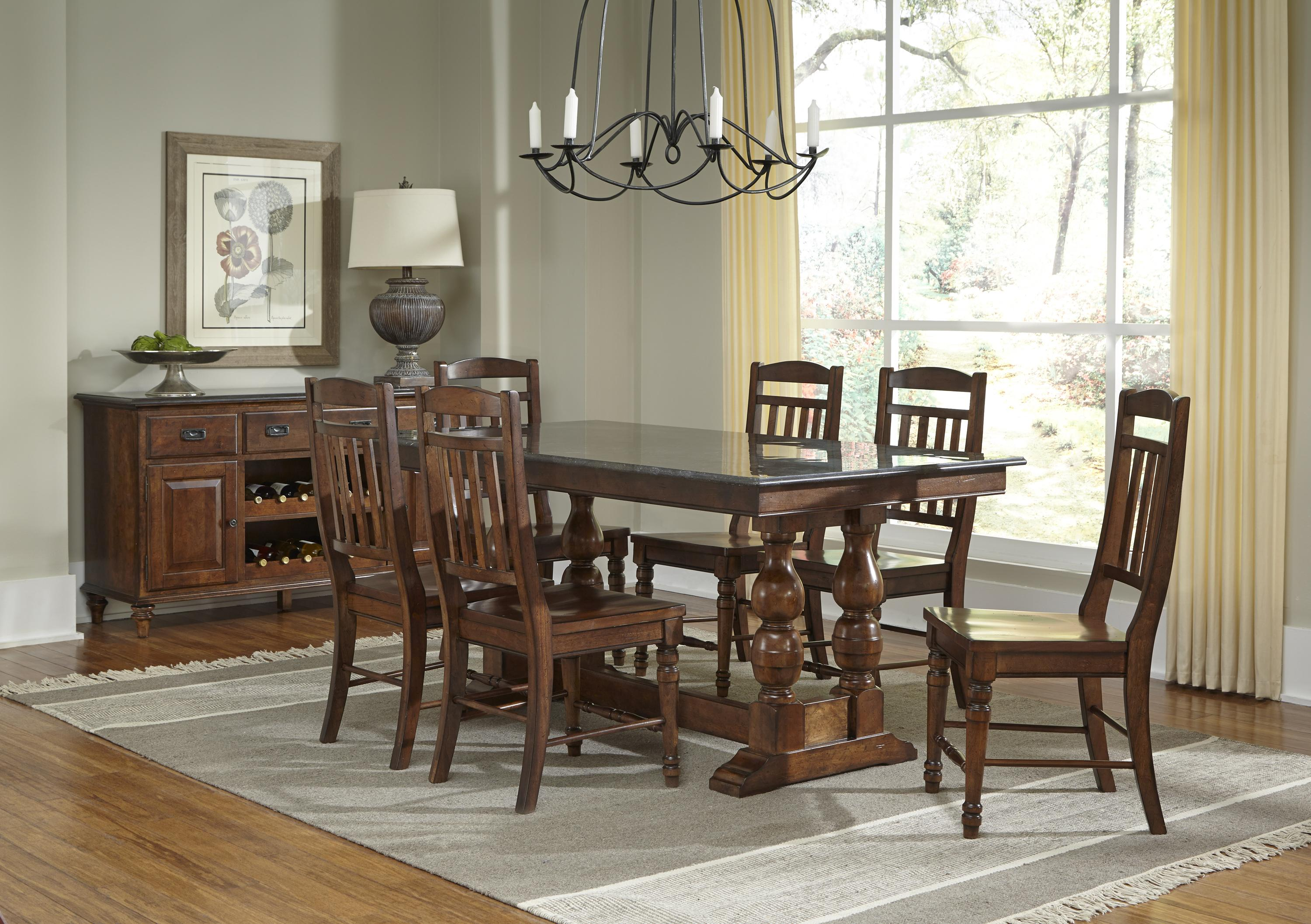 AAmerica Andover Park Dining Room Group - Item Number: ADV Dining Rroom Group 8