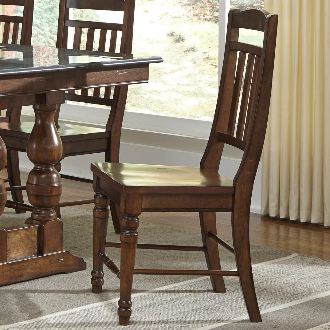 AAmerica Andover Park Slatback Side Chair - Item Number: ADV-AC-2-65-K