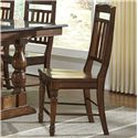 AAmerica Andover Park Slatback Side Chair - Item Number: ADV-AC-2-65-K