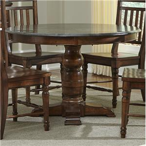 AAmerica Andover Park Round Pedestal Table