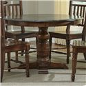 AAmerica Andover Park Round Pedestal Table - Item Number: ADV-AC-6-20-0