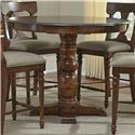 AAmerica Andover Park Bluestone Round Hilo Pedestal Table