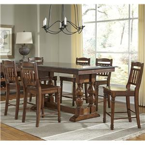 AAmerica Andover Park 7 Piece Counter Height Set