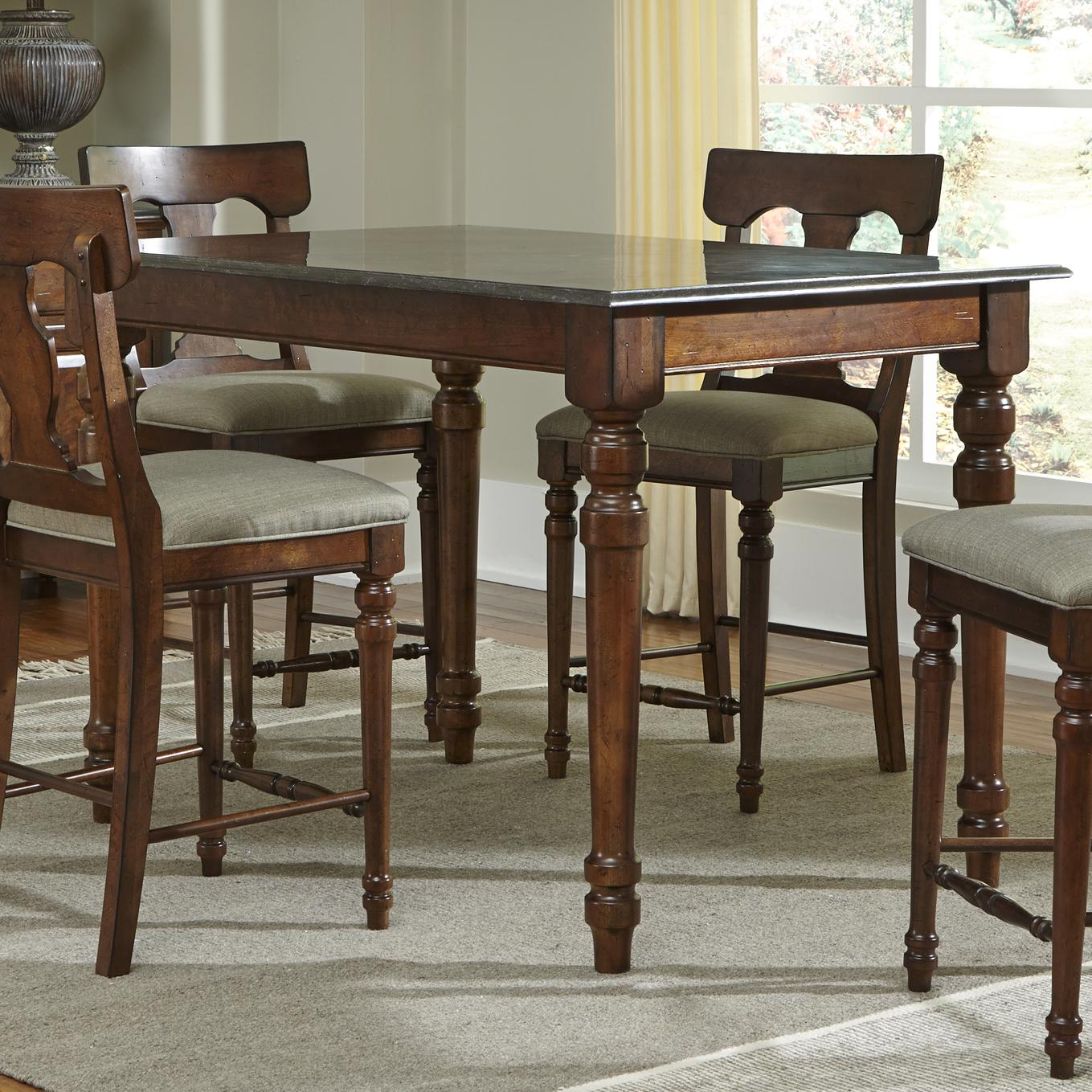 AAmerica Andover Park Gathering Height Table - Item Number: ADV-AC-6-50-0