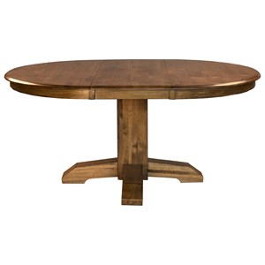 "AAmerica Bennett 48"" Pedestal Table"