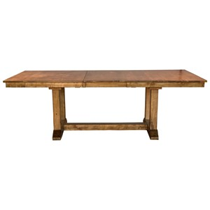 AAmerica Bennett Trestle Dining Table