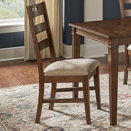 Blue Mountain Ladderback Side Chair by AAmerica at Zak's Home