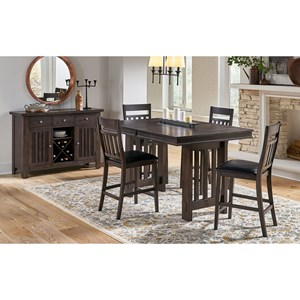 5-Piece Pub Table and Chair Set