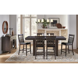 7-Piece Pub Table and Chair Set