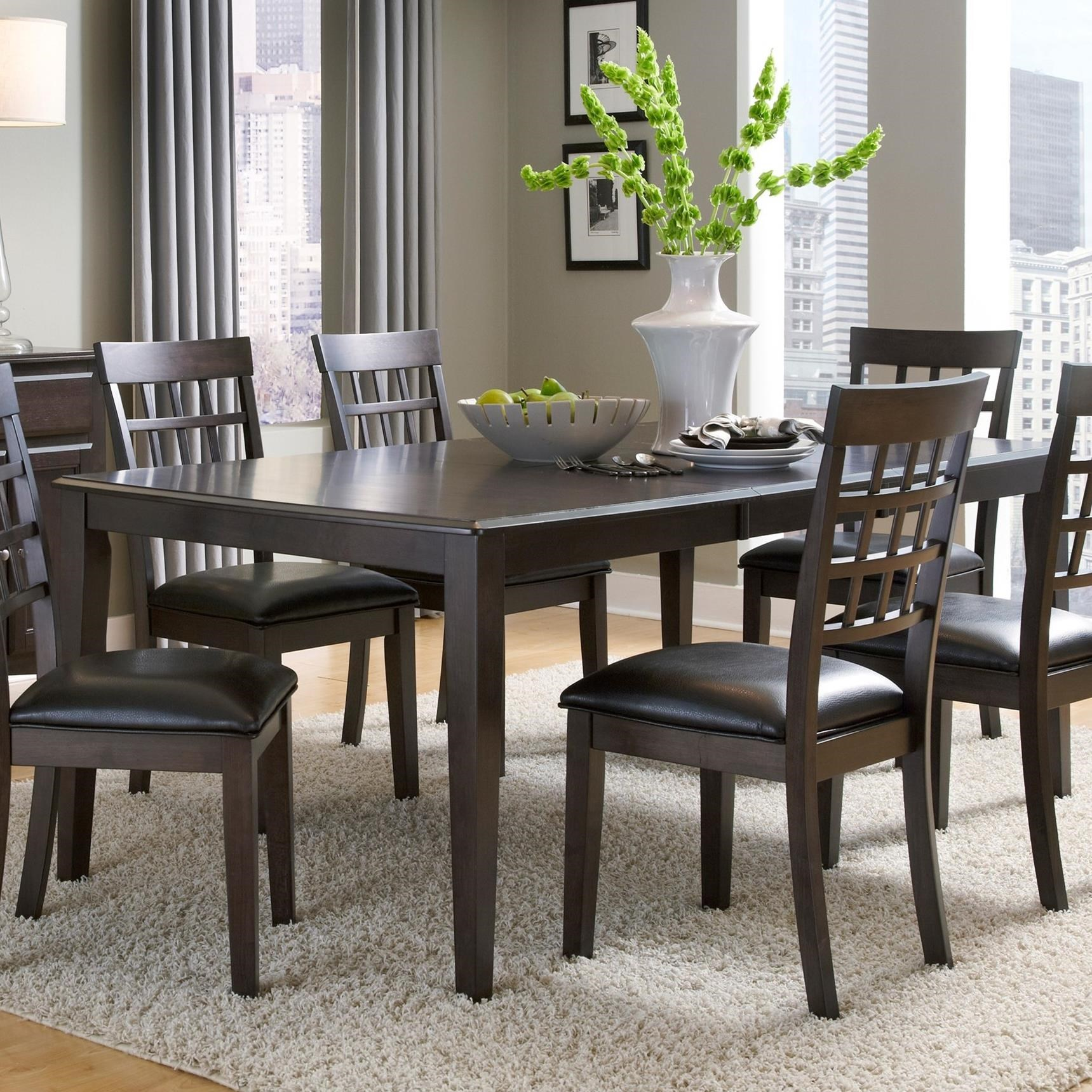 Bristol Point - WG Butterfly Leg Table by A-A at Walker's Furniture