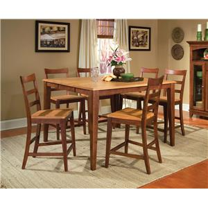 AAmerica Bristol Point 7 Piece Table Set
