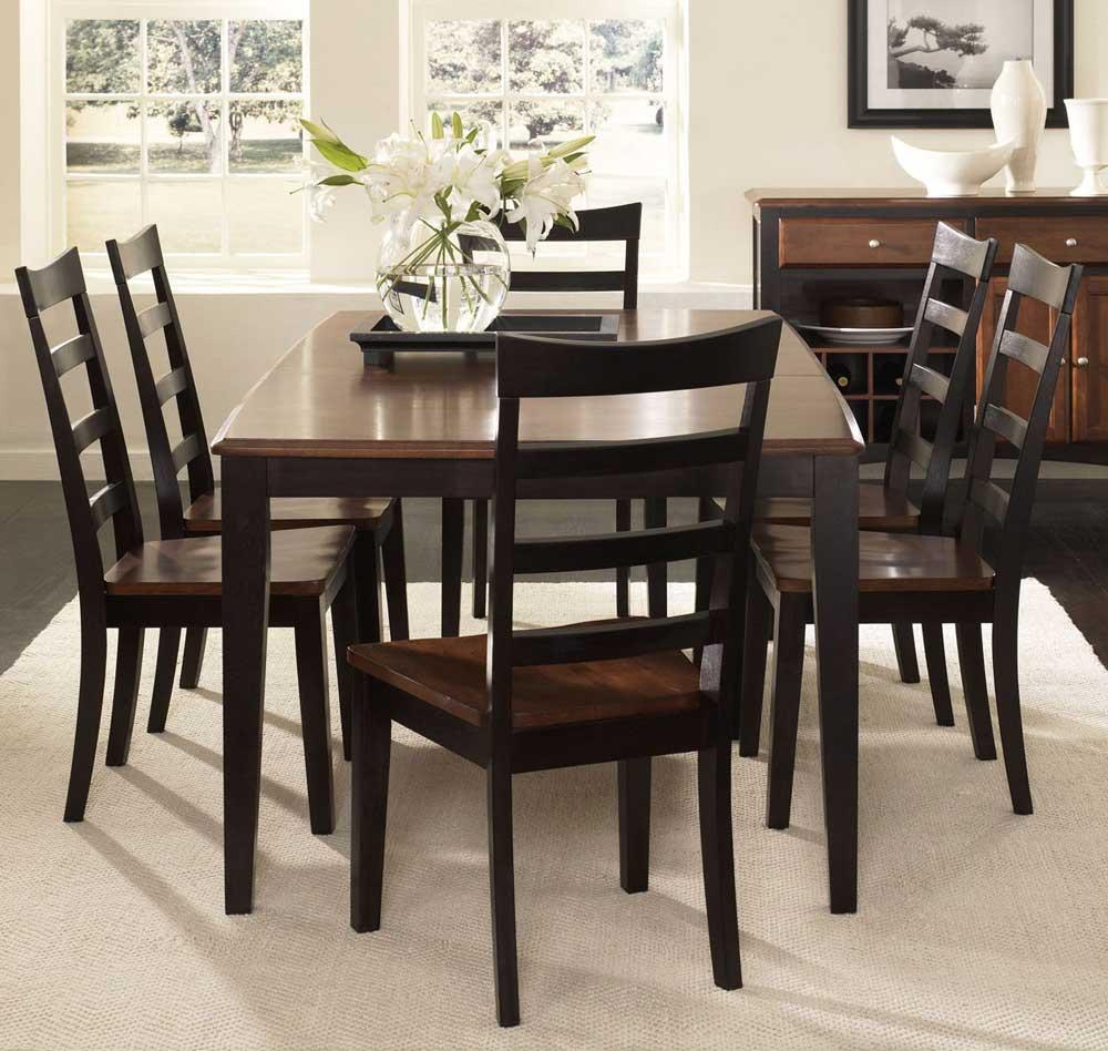 AAmerica Bristol Point 7 Piece Dining Set - Item Number: OE-6-32-0+6x2-55