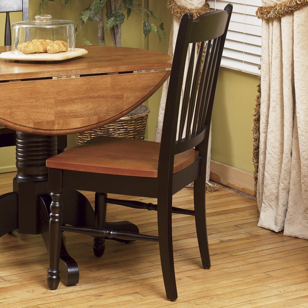 AAmerica British Isles Slatback Side Chair - Item Number: BRI-HE-2-67-K