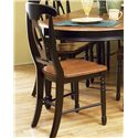 AAmerica British Isles Napoleon Side Chair - Item Number: BRI-HE-2-85-K