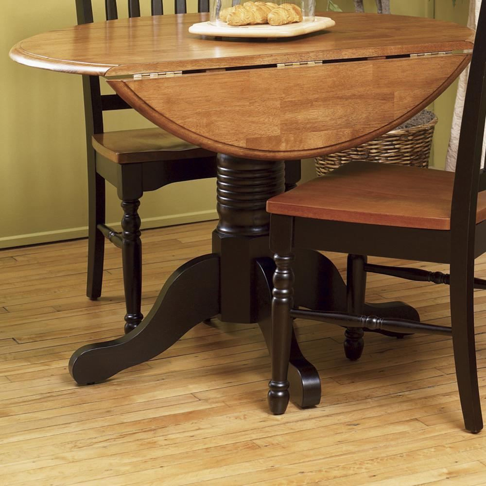 AAmerica British Isles Dropleaf Table - Item Number: BRI-HE-6-10-0