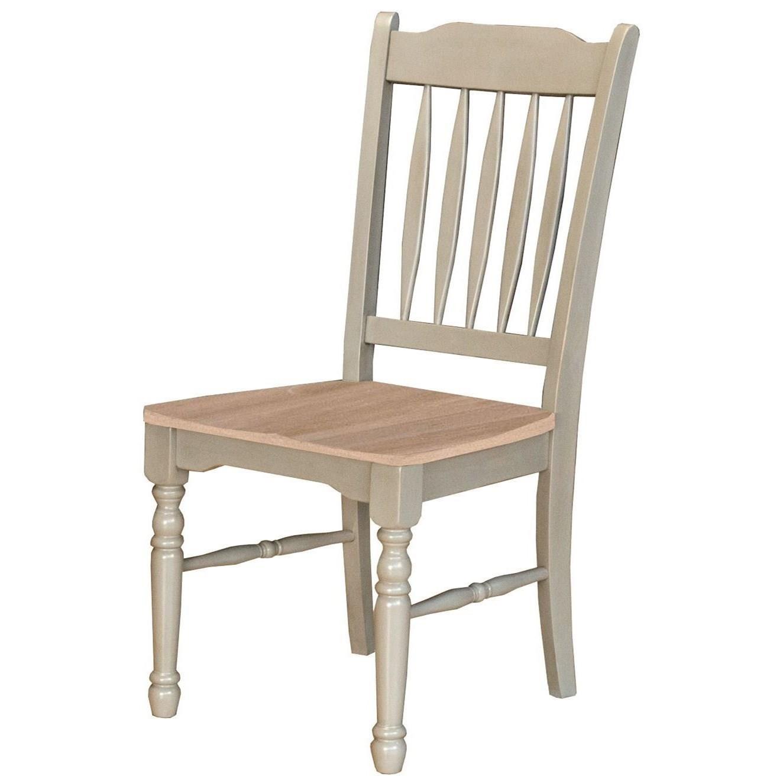 AAmerica British Isles Slatback Side Chair - Item Number: BRI-NS-2-67-K