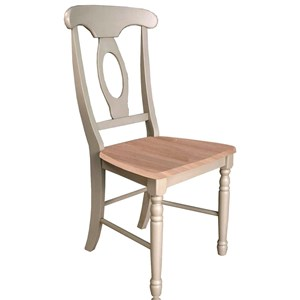 AAmerica British Isles Napoleon Side Chair