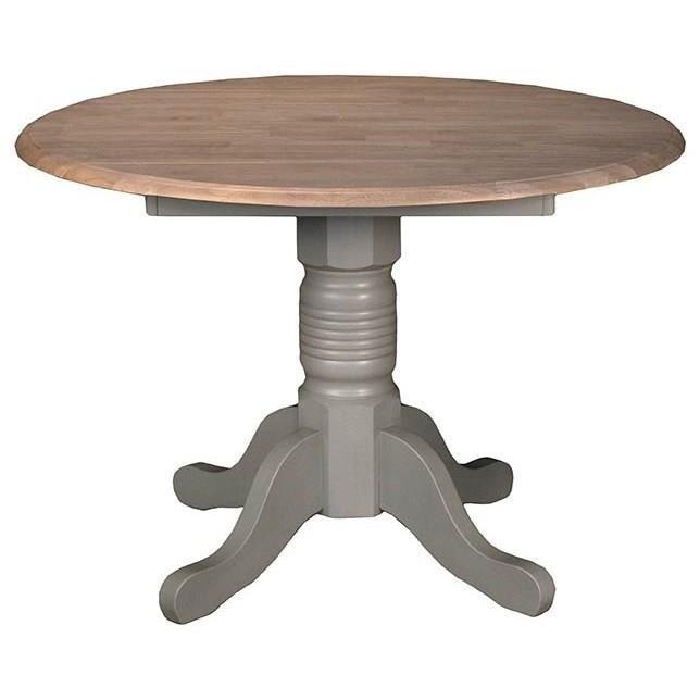 AAmerica Booth Bay Dropleaf Table - Item Number: BRI-NS-6-10-0