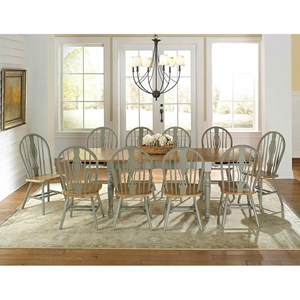 AAmerica British Isles 11 Piece Dining Set