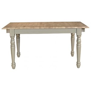 AAmerica British Isles Butterfly Leaf Dining Leg Table