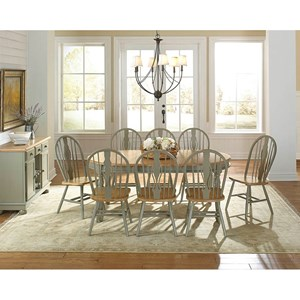 AAmerica British Isles Casual Dining Room Group