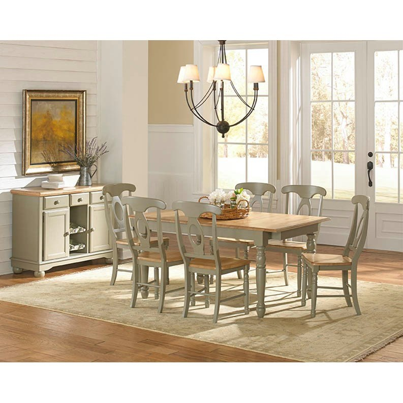 Aamerica british isles casual dining room group powell 39 s for Casual dining room sets