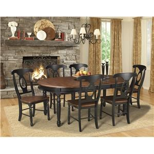 AAmerica British Isles 5 Piece Table & Chair Set