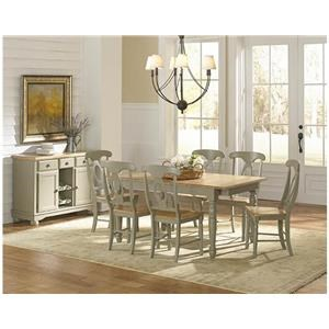 AAmerica British Isles 7 Piece Dining Set