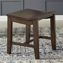 AAmerica Brooklyn Heights Backless Stool - Item Number: BRH-WG-2-10-K