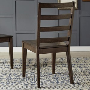 AAmerica Brooklyn Heights Ladderback Side Chair