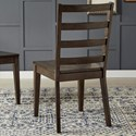 AAmerica Brooklyn Heights Ladderback Dining Side Chair
