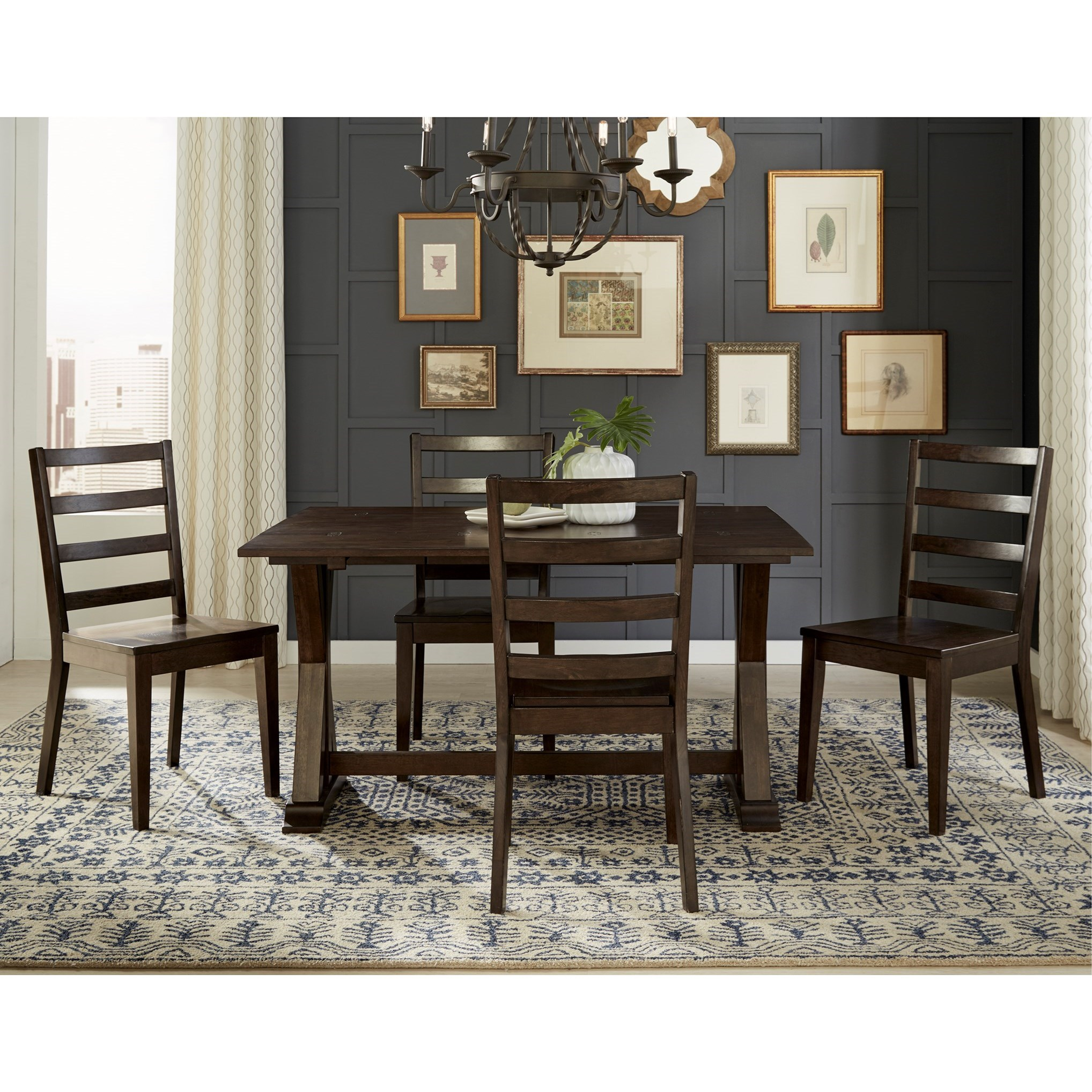 The Dining Room Brooklyn: AAmerica Brooklyn Heights Square Dining Leg Table With