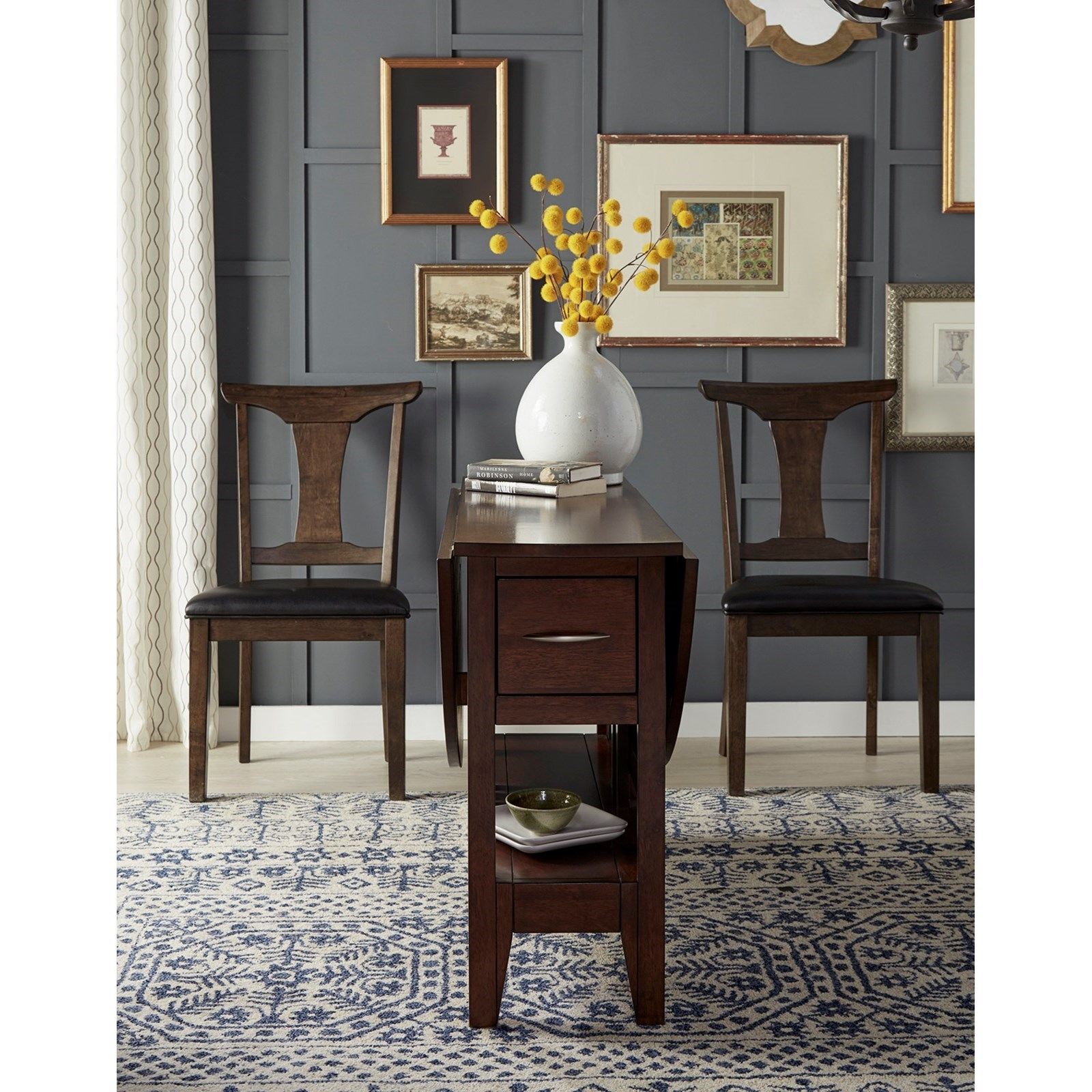 Aamerica Brooklyn Heights Gate Leg Dining Table With