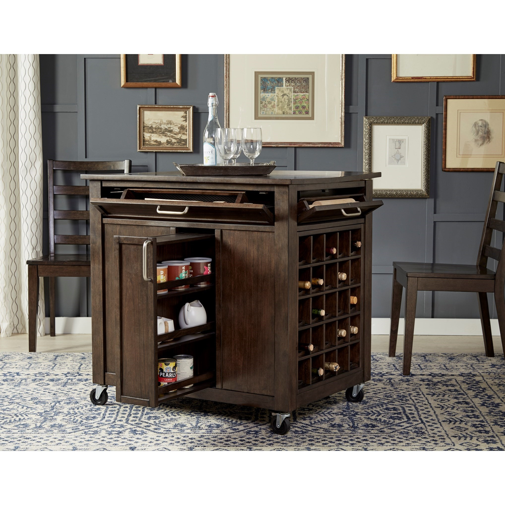 9 Standout Kitchen Islands: AAmerica Brooklyn Heights Kitchen Dining Island With