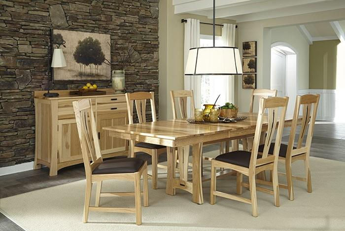 AAmerica Cattail Bungalow Casual Dining Room Group - Item Number: CAT-NT Dining Room Group 1